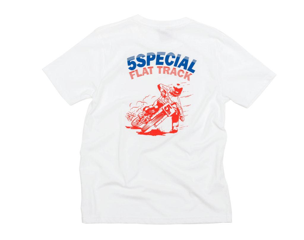 T-shirt flat track