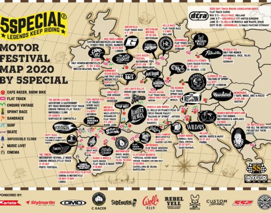 Motor Festical Map 2020